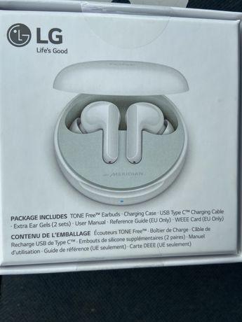 Słuchawki LG TONE FREE białe