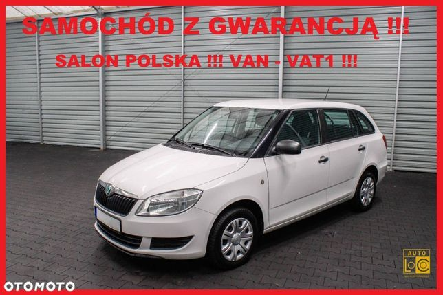 Škoda FABIA  VAN VAT 1 + Salon POLSKA + Klimatyzacja !!!