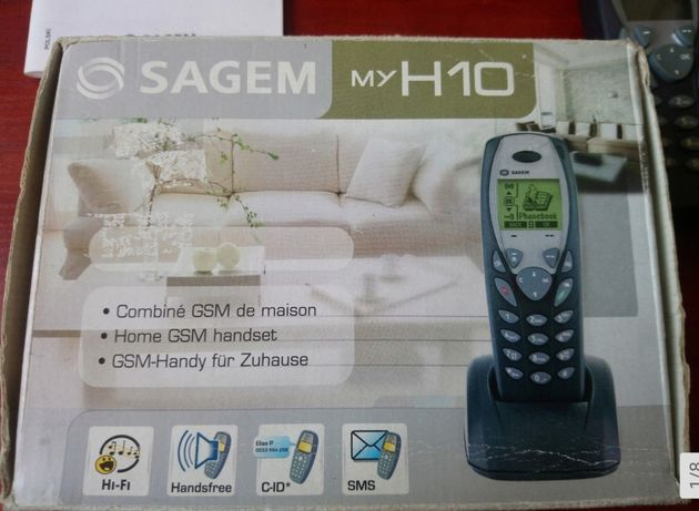 Sagem telefony GSM trzy sztuki