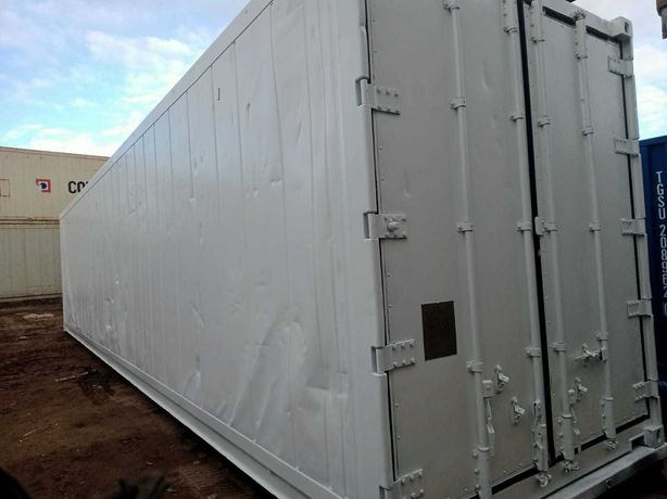 Kontener mroźnia chłodnia 40 HCRF - 12 metrów - używany magazyn