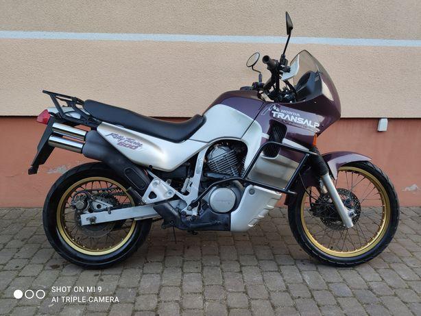 Honda transalp 600V Niemcy ładna zamiana 125