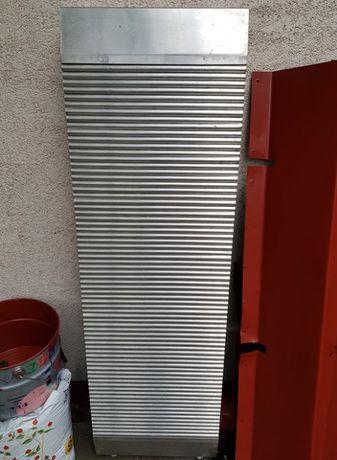 Grzejnik aluminiowy (miedziane rurki) 130cmx40cm, stan bardzo dobry
