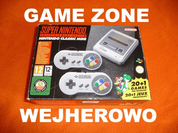 Nintendo Snes Mini + 2 pady + 280 gier Nes/Pegasus/Sega/Atari + Case