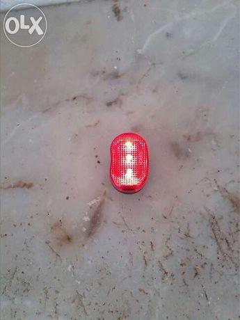 Farolim para Bicicleta/Moto luz vermelha-Novo