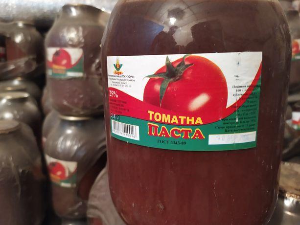 Паста томатная 3 литр. банка