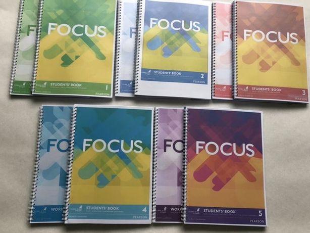 Focus 1 2 3 4 5 Student's book и Workbook и Word Store