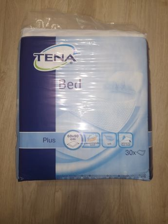 Впитывающие памперсные одноразовые пеленки Tena Bed Plus 60х90см