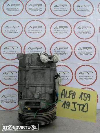 Compressor AC, Alfa 159 1.9 JTD, ref 60693331.