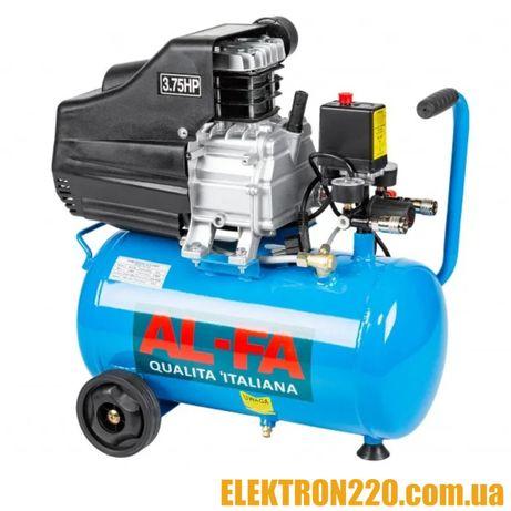 Компрессор AL-FA ALC50 ( 2.8 кВт , 235 л/мин) Гарантия 1 год!!!