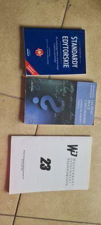 Sprzedam 3 ksiazki pisania prac psychologii