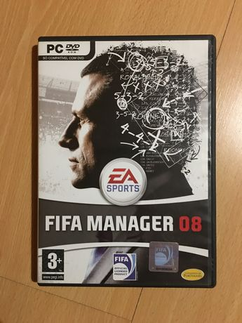 Jogo PC Fifa Manager 2008