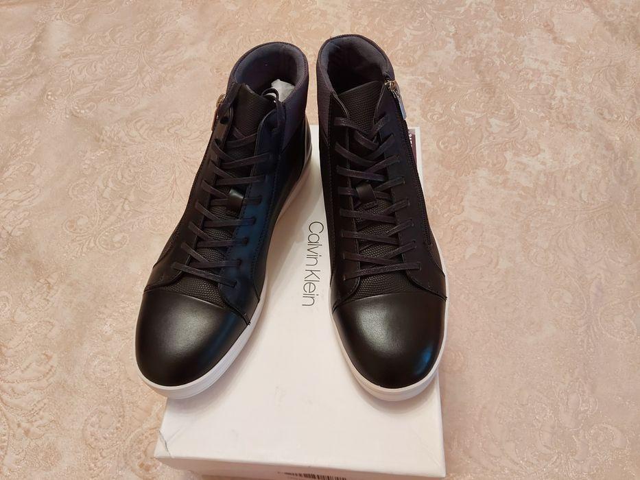 Продам  новые  мужские ботинки Calvin Klein, оригинал. Бабурка - изображение 1