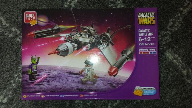 Klocki Block Tech, 225szt, Statek Kosmiczny, kompatybilne z LEGO, nowe