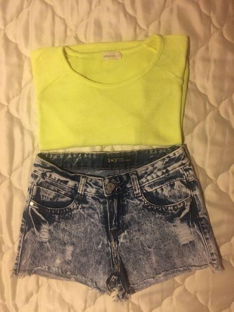 Conjunto camisola e calção