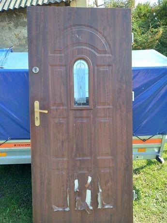 Drzwi zewnętrzne 90 plus ościeżnica
