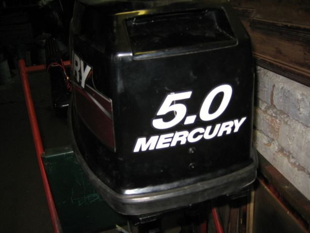 мотор лодочний меркурій 5