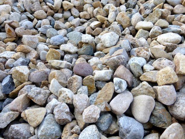 Otoczak Miodowy Grys ozdobny Granit MIX Kruszywo