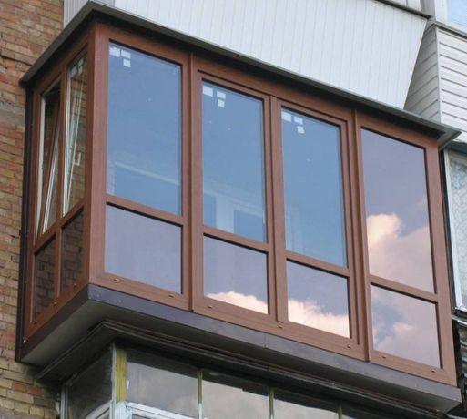 Металопластикові вікна, балкони під ключ