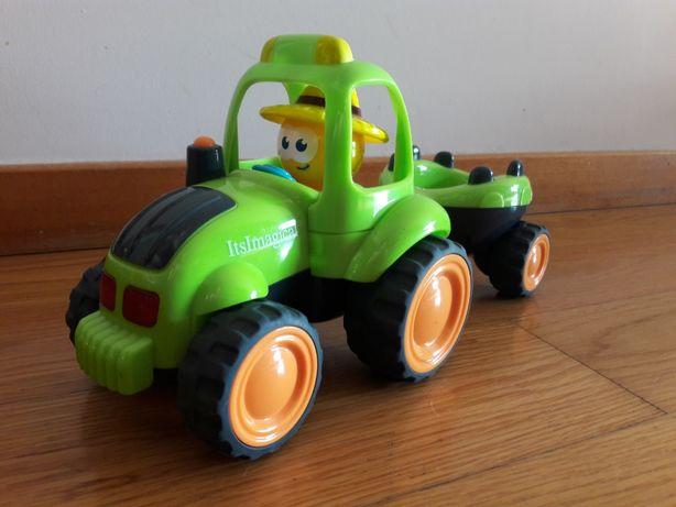 Trator com Reboque, sons e luzes - Imaginarium (Verde)