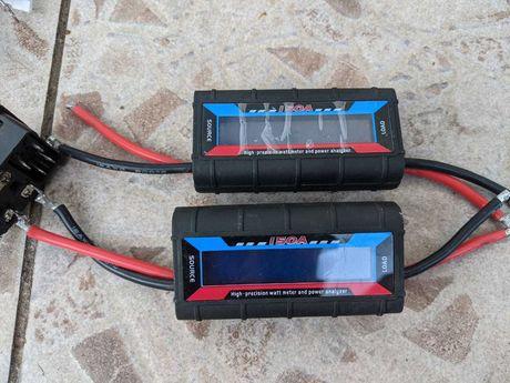 Ватметр ват вольт-ампер метр тестер 150А 60В