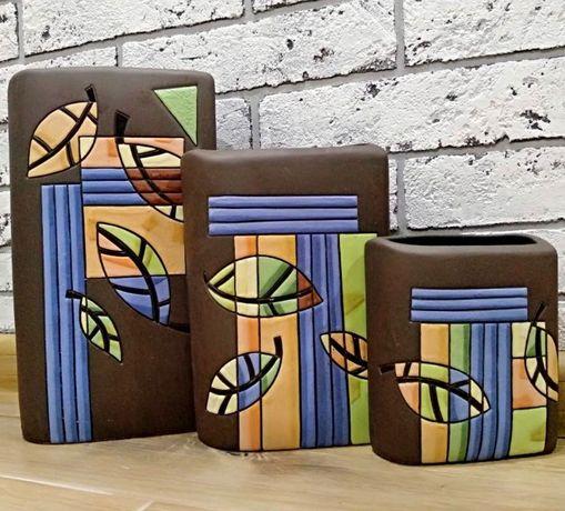продам вазы комплект (керамика)