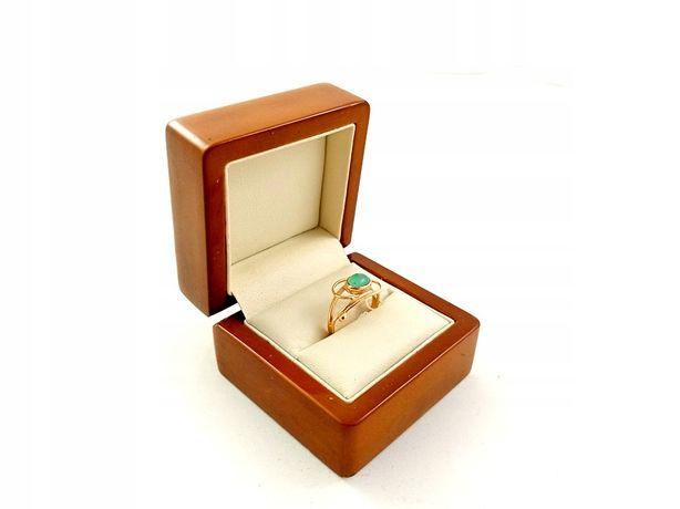 Złoty Pierścionek z oczkiem PR. 585 W:2,47g