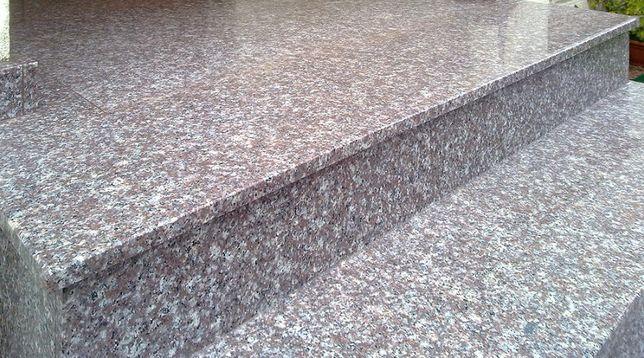 STOPNIE/SCHODY GRANIT POLER- 150x33x2 cm –brąz.-szary typu Brąz/Brown