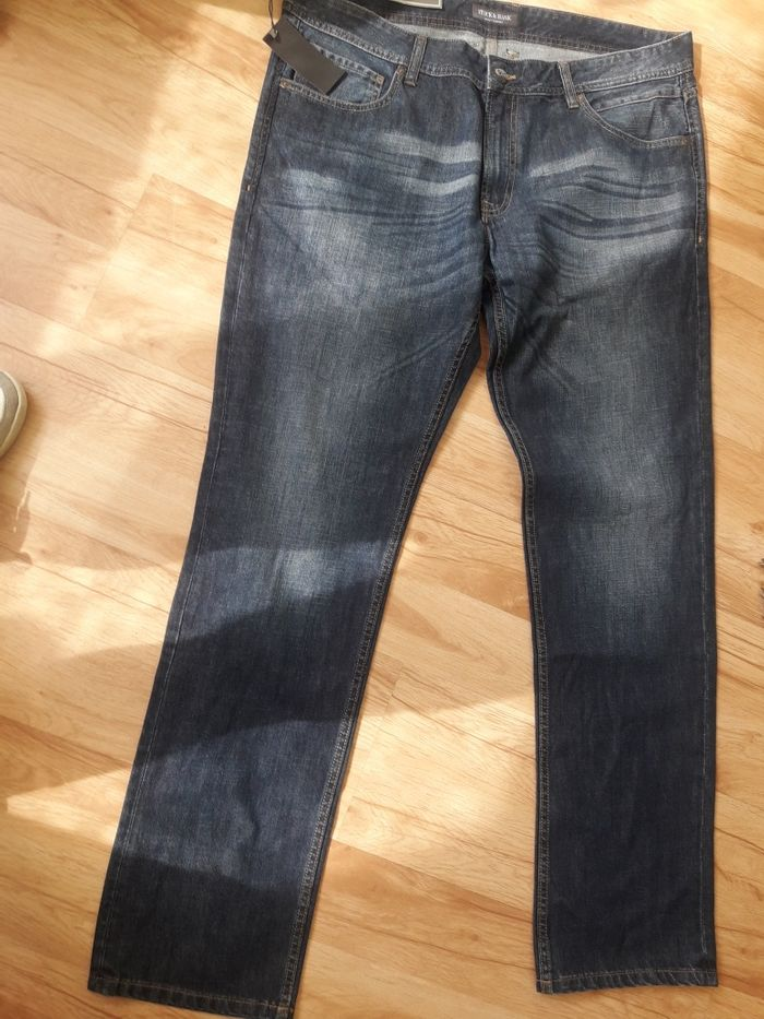 Stock&Hank spodnie jeansowe męskie 38/34 Wągrowiec - image 1