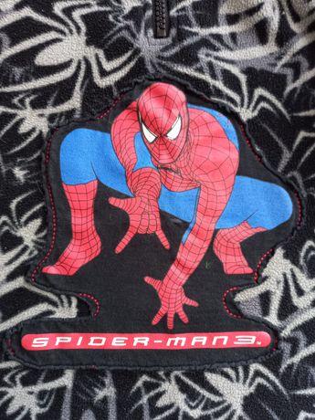 Флисовая кофта 98-110см, Человек паук