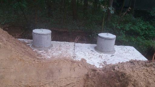 Zbiornik na gnojowicę gnojówkę szambo 20m3 szamba betonowe deszczówkę