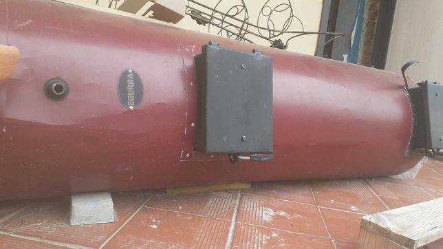 Твердопаливний котел EGURRA 25 кВт з автоматикою.