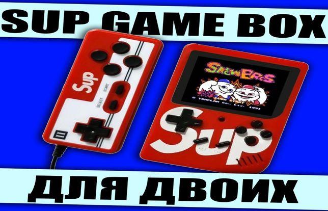 Ретро приставка для пары 8 bit SUP Game Box LCD, джойстик, 400 игр