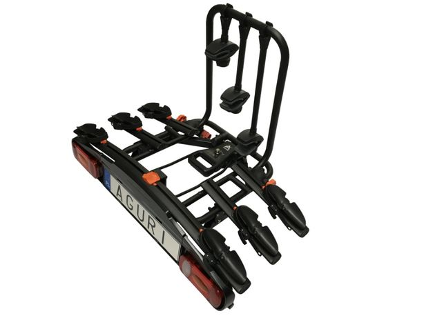 Platforma Row. Hak Active Bike 3/4 HIT black AGURI - Bagażnik