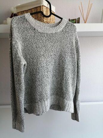 Sweterek 36 H&M szary