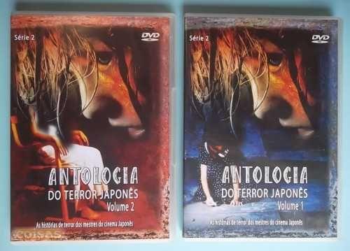 Caixas DVD edição nacional