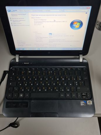 Нетбук HP mini 210 2-х ядерний ноутбук  батарея робоча
