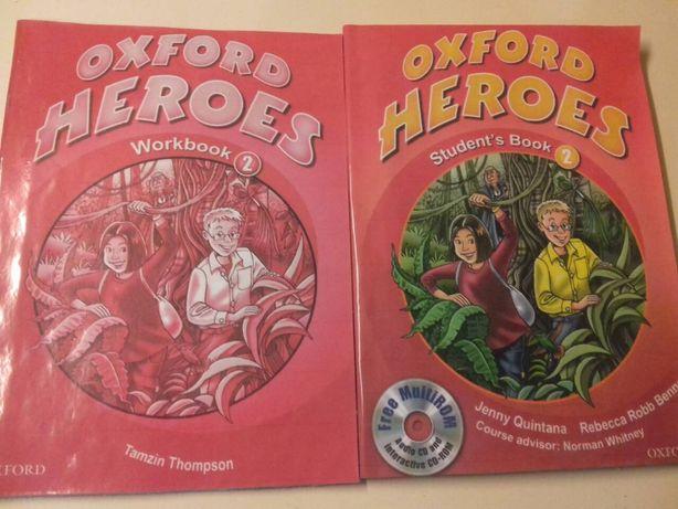 Oxford Heroes 2 английский учебник и рабочая тетрадь