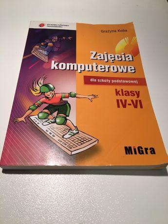 Zajęcia komputerowe klasa 4-6. Podręcznik + płyta CD.