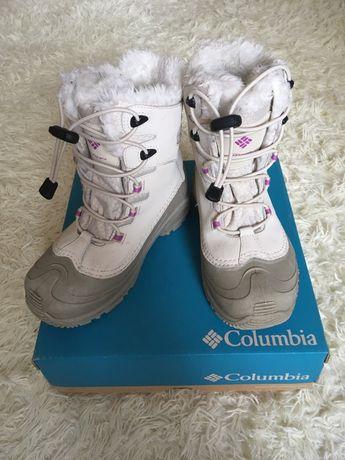 Зимние ботинки  Columbia для девочки 34 размер (21 см стелька)