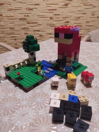 Коструктор Lego Minecraft 21153 Шерстяная ферма