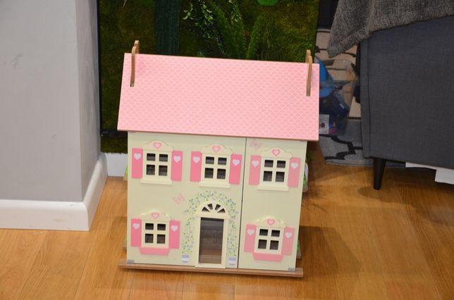 domek dla lalek lalek le toy van drewniany