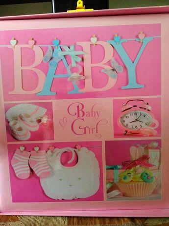 Продам альбом перший рік життя для дівчинки