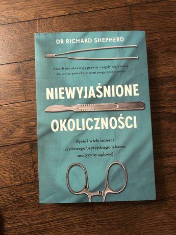 Niewyjaśnione okoliczności Dr Richard Shepherd lekarska