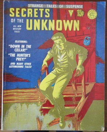 Secrets Of The Unknown #170 [Alan Class comics; UK] [inclui portes]
