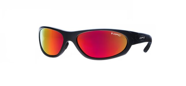 Okulary przeciwsłoneczne OPC MILITARY MARINES Matt Black Red REVO