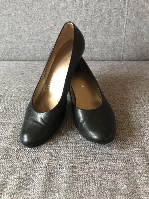 Skórzane czółenka buty Gabor Kazar Gino Rossi Szczecin - image 1