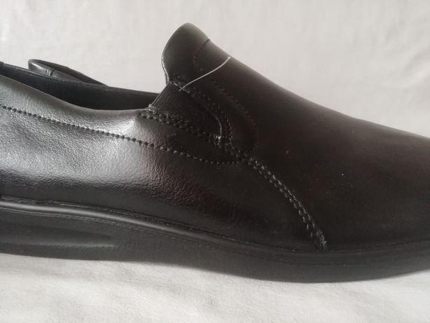 Romika кожаные тапочки мокасины туфли р. 46