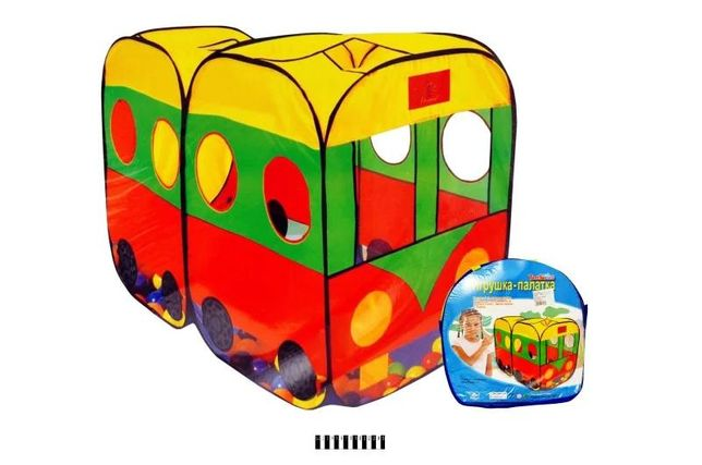 палатка Автобус цветная