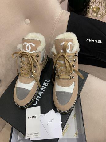 Ботинки Chanel зима