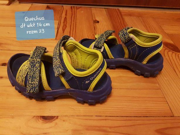 Sandałki Quechua, rozm 23 dł wkł 14cm